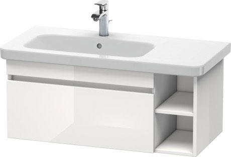 DuraStyle Håndvask til møbel asymmetrisk #232510 | Duravit