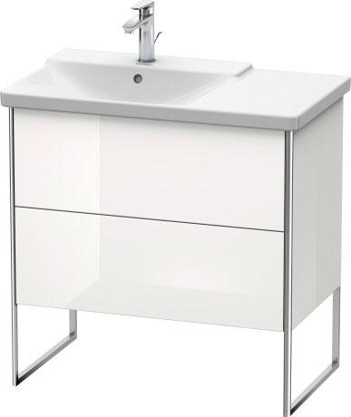 P3 Comforts Håndvask til møbel asymmetrisk #233385 | Duravit