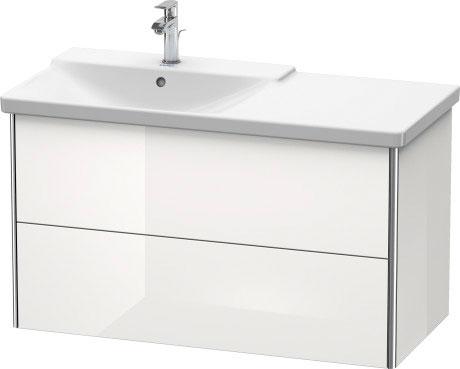 P3 Comforts Håndvask til møbel asymmetrisk #233310 | Duravit