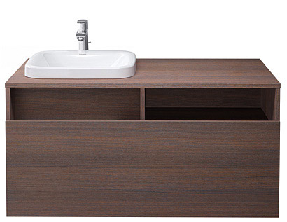 DuraStyle Håndvask til møbel asymmetrisk #232580 | Duravit